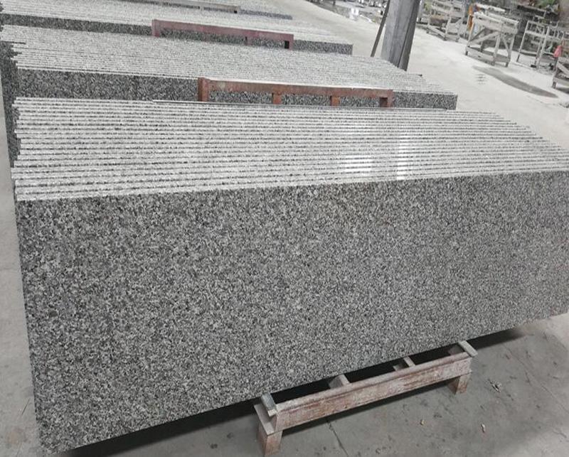 Swan White Granite Polished White Granite Countertops for Kitchen