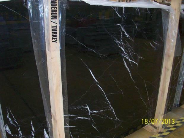 TAURUS BLACK Marble in Slabs Tiles