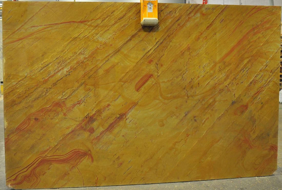 Tacoma Gold Quartzite Slabs Polished Yellow Quartzite Stone Slabs