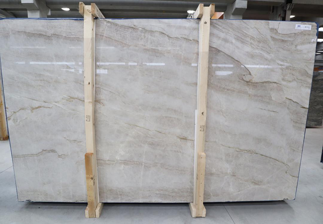 Taj Mahal Quartzite Slabs High Quality Brazilian White Quartzite Slabs