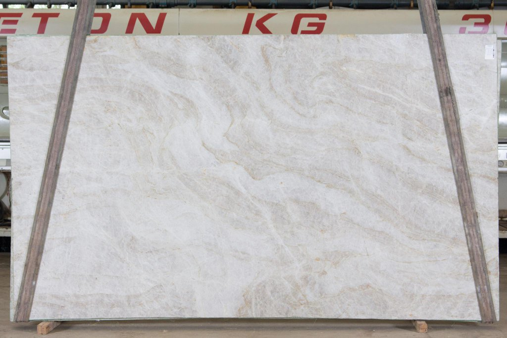 Taj Mahal Quartzite Slabs White Quartzite Slabs