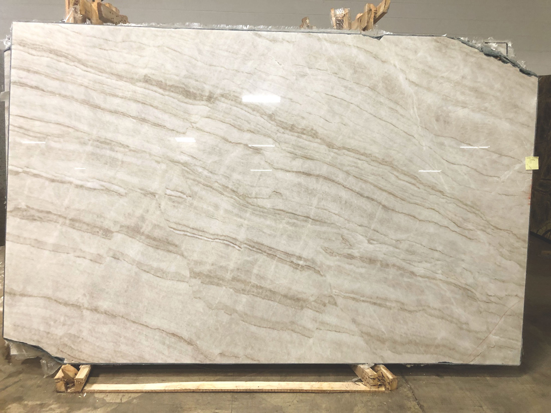 Taj Mahal Slab White Polished Quartzite Stone Slabs