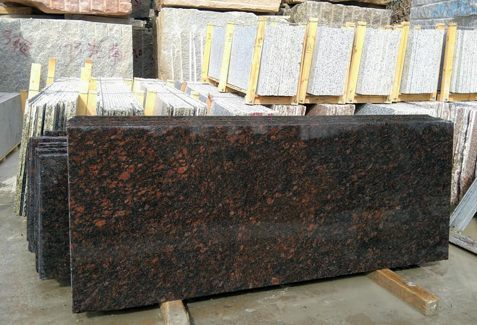 Tan Brown Granite Slabs Indian Polished Granite Slabs