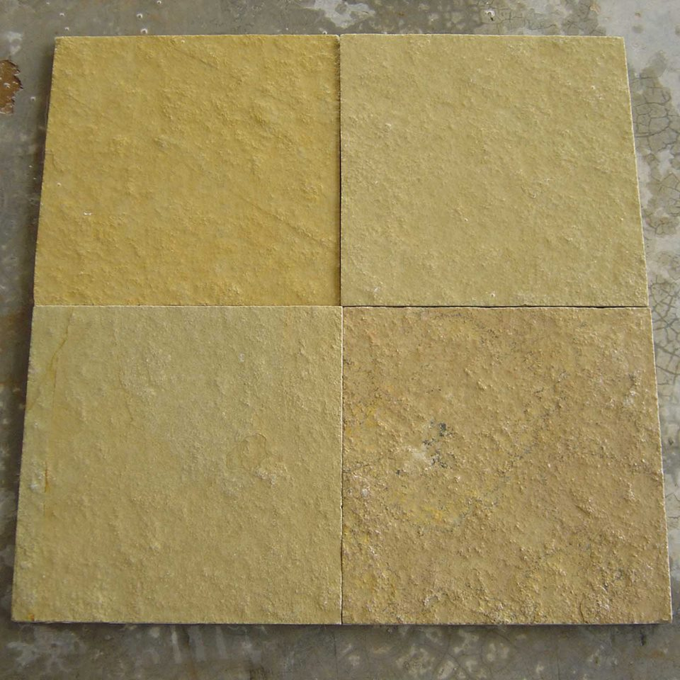 Tandur Yellow Limestone Paving Tiles