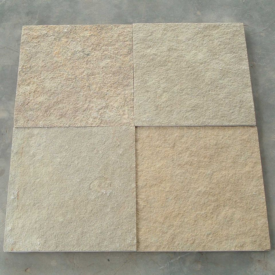 Tandur Yellow Limestone Tiles for Paving