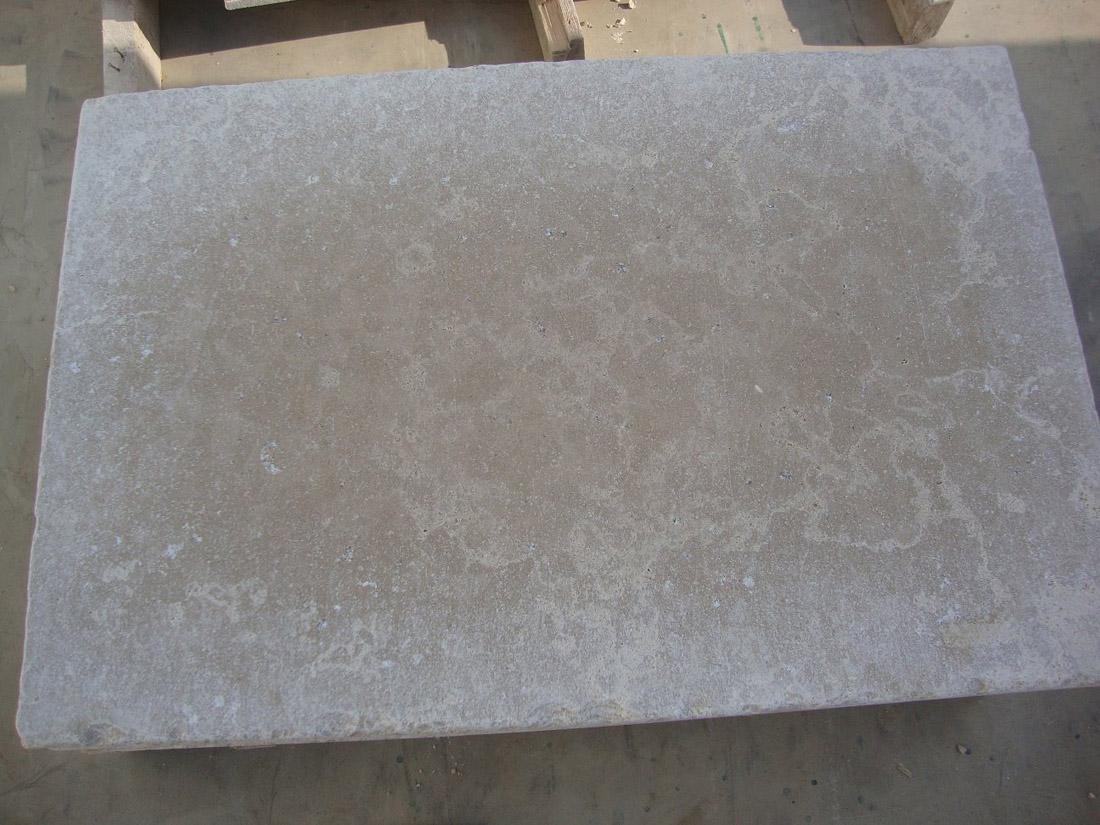 Terista Tiles Sinai Pearl Beige Marble Tiles Tumbled
