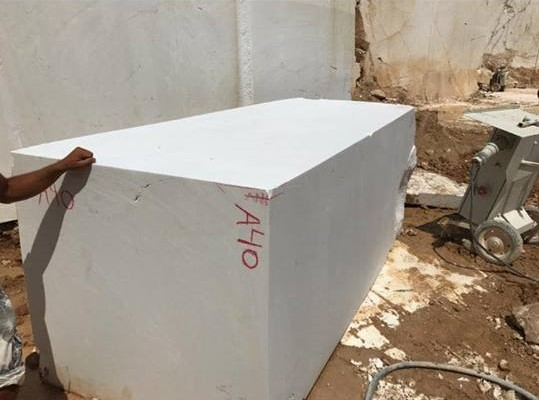 Thassos Block Natural White Marble Blocks
