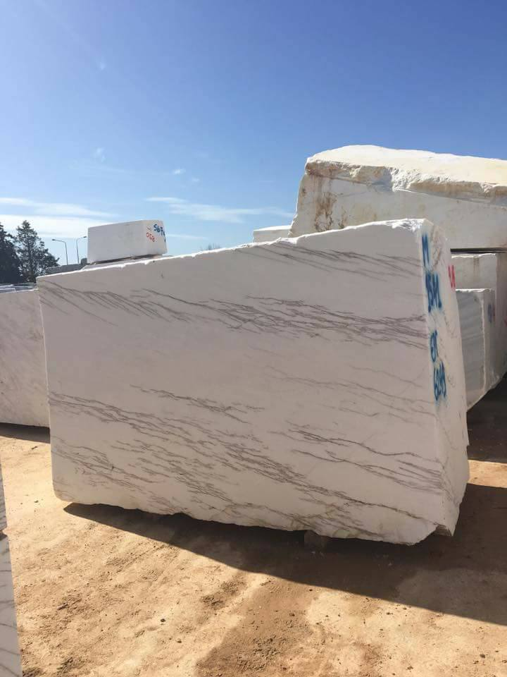 Thassos Imperial Marble White Marble Blocks