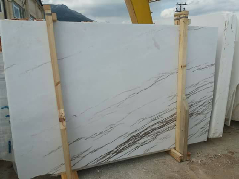 Thassos Imperial Slabs White Marble Slabs from Greece