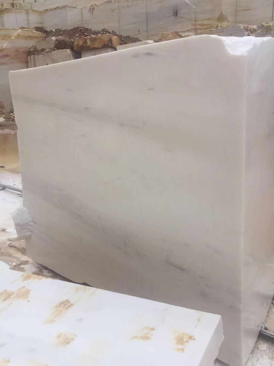 Thassos Marble Stone Blocks Greek White Natural Stone Blocks