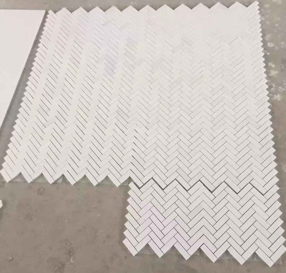 Thassos Marble White Mosaic Competitive White Marble Mosaics