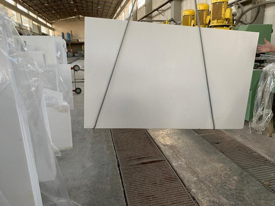 Thassos Slabs White Polished Marble Slabs from Greece