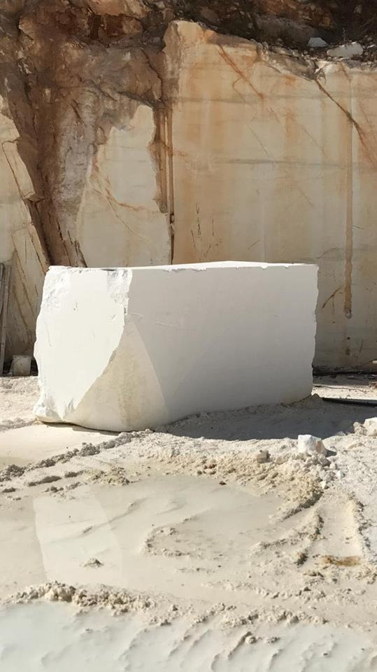Thassos White Block Greek Natural Marble Blocks