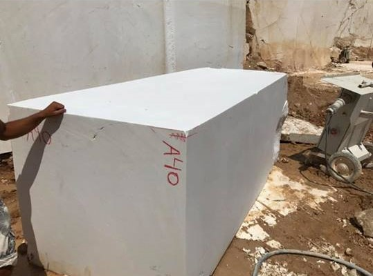 Thassos White Block Natural Marble Blocks from Greece