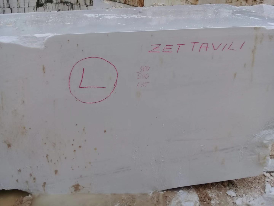 Thassos White Marble Stone Blocks Natural White Marble Blocks