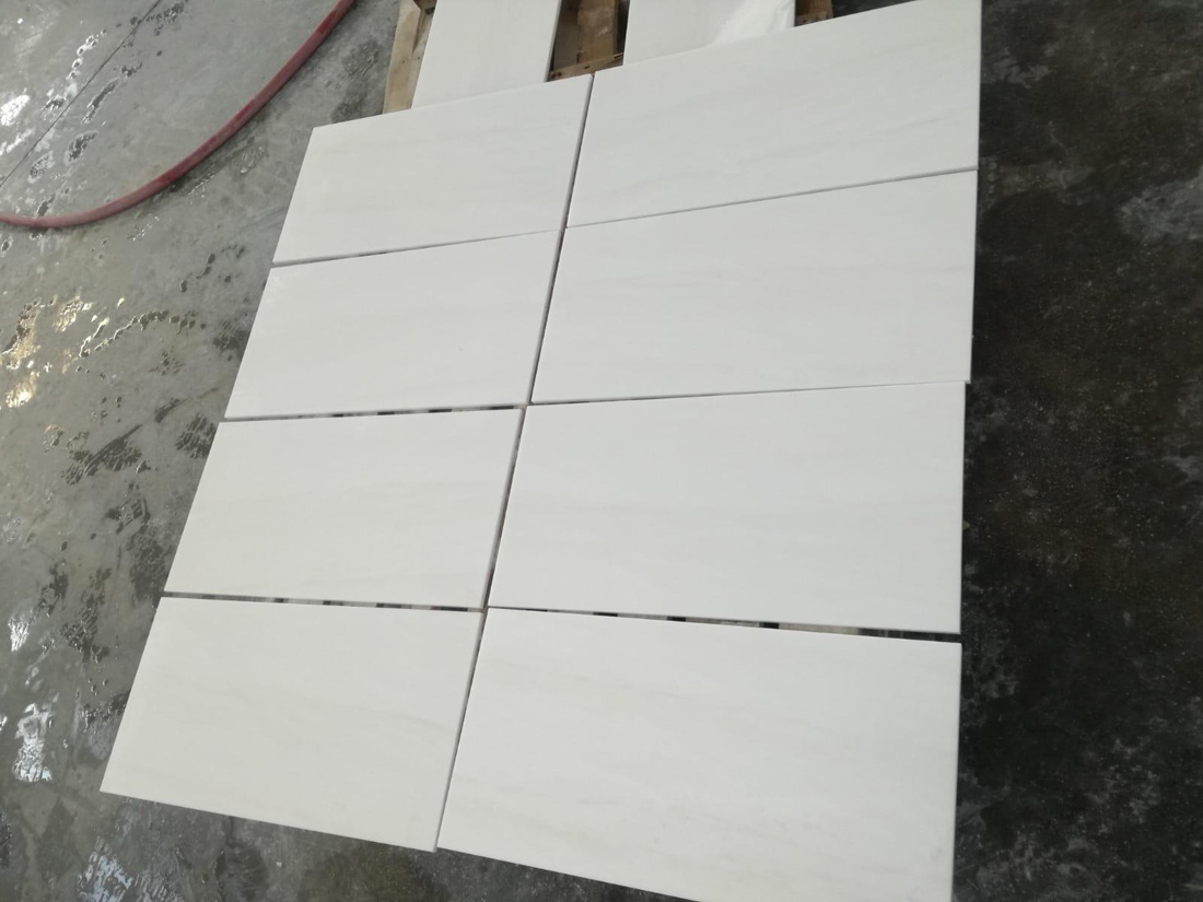 Thassos White Marble Tile Polished Greek White Marble Tiles