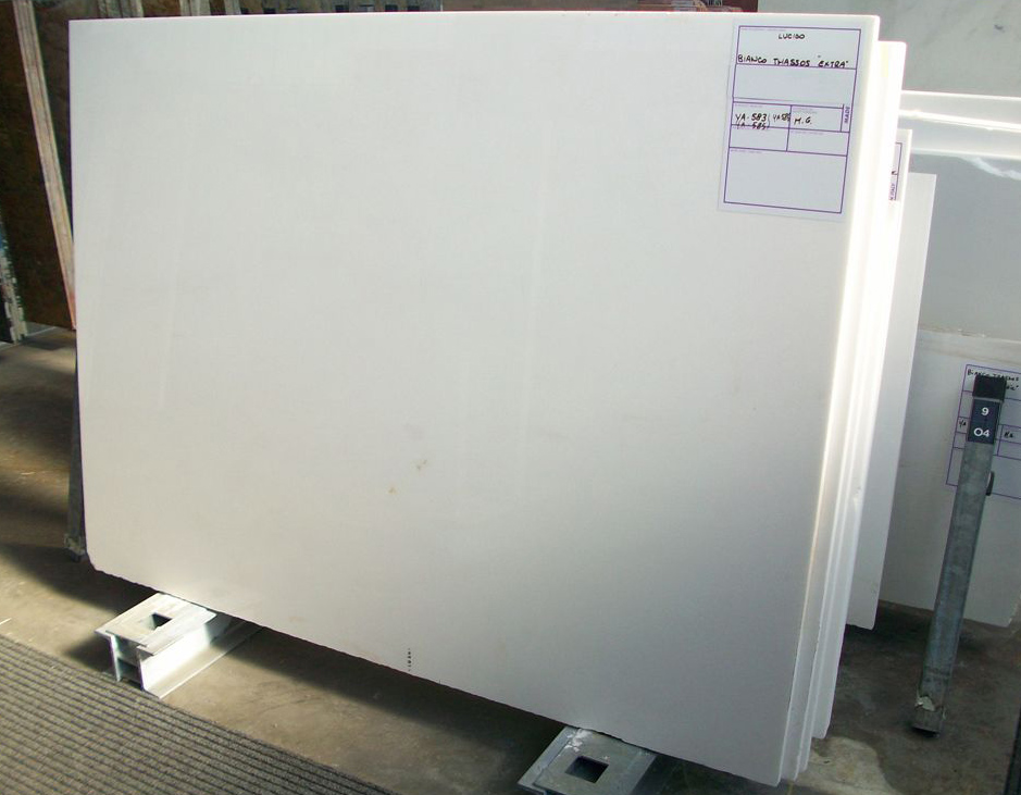 Thassos White Slabs Greek White Marble Stone Slabs