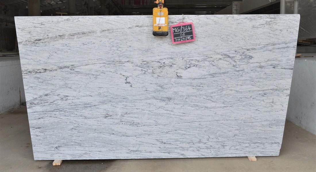 Thunder White Big Granite Slab for Countertops