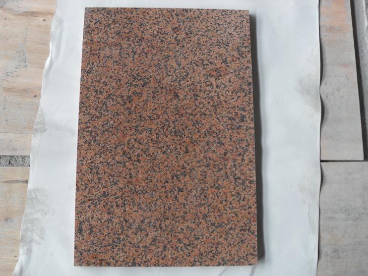 Tian Shan Red Granite Tiles Polished Red Granite Tiles