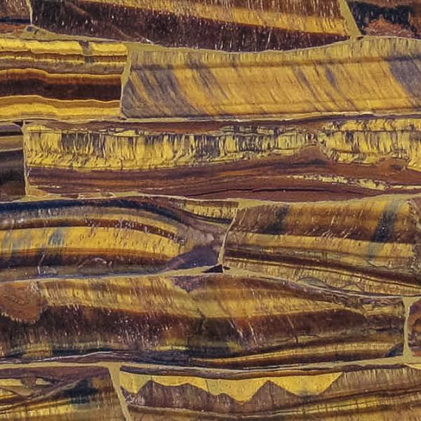 Tiger Eye Gold Gemstone - Gold Gemstone