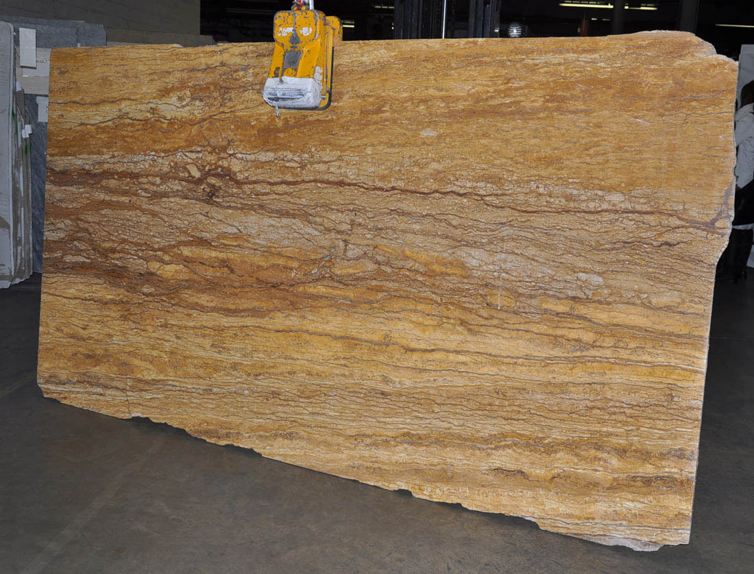 Tiger Skin Travertine Slabs