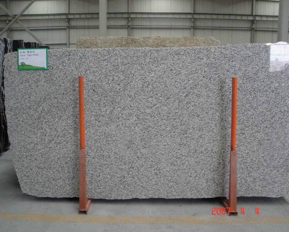 Tiger Skin White Granite Slabs