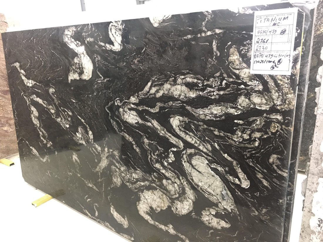Titanium Granite Slabs Top Quality Black Granite Slabs