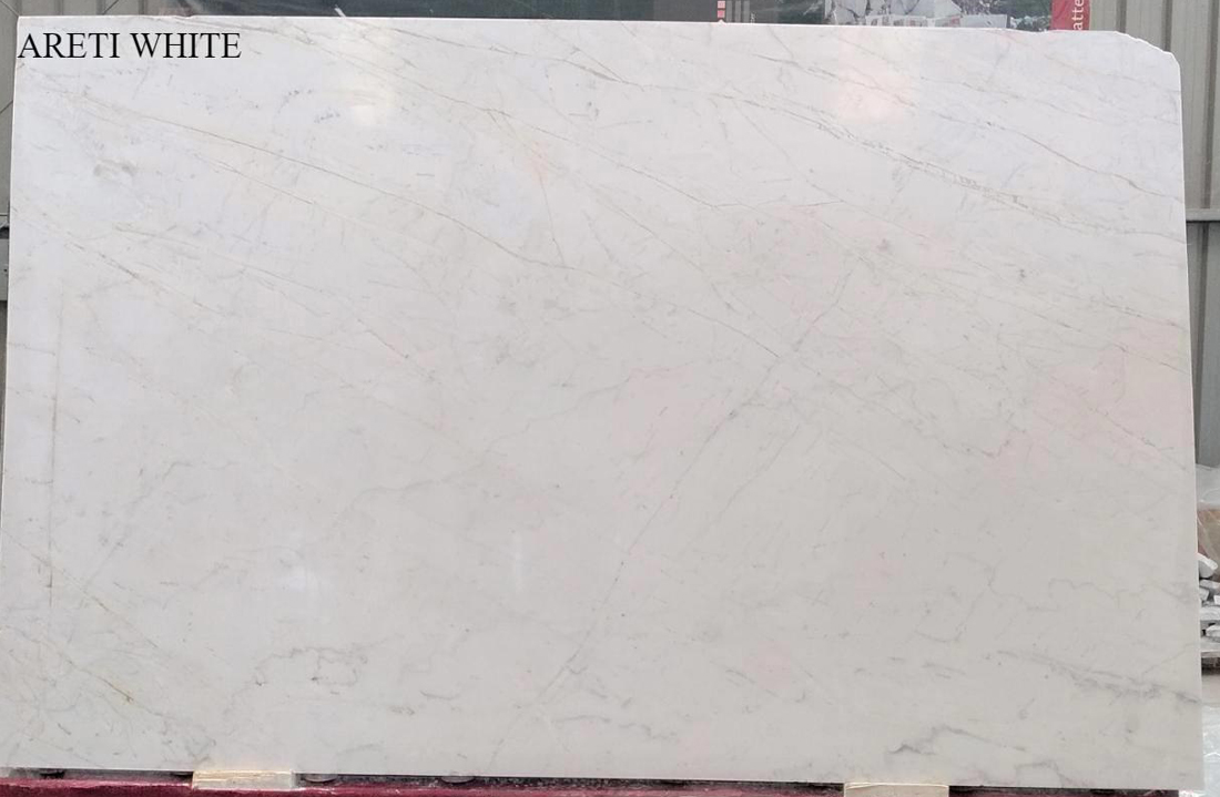 Top Quality Areti White Marble Slabs Polished Marble Slabs