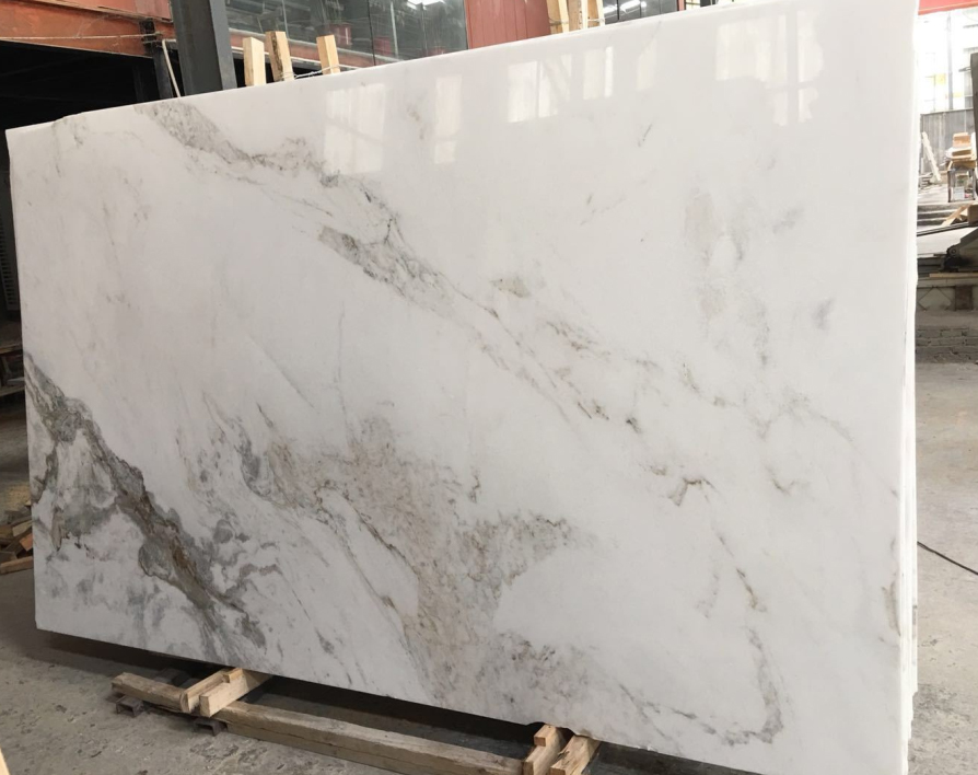 Top Quality Bianco Oro Marble Slabs Polished White Marble Slabs
