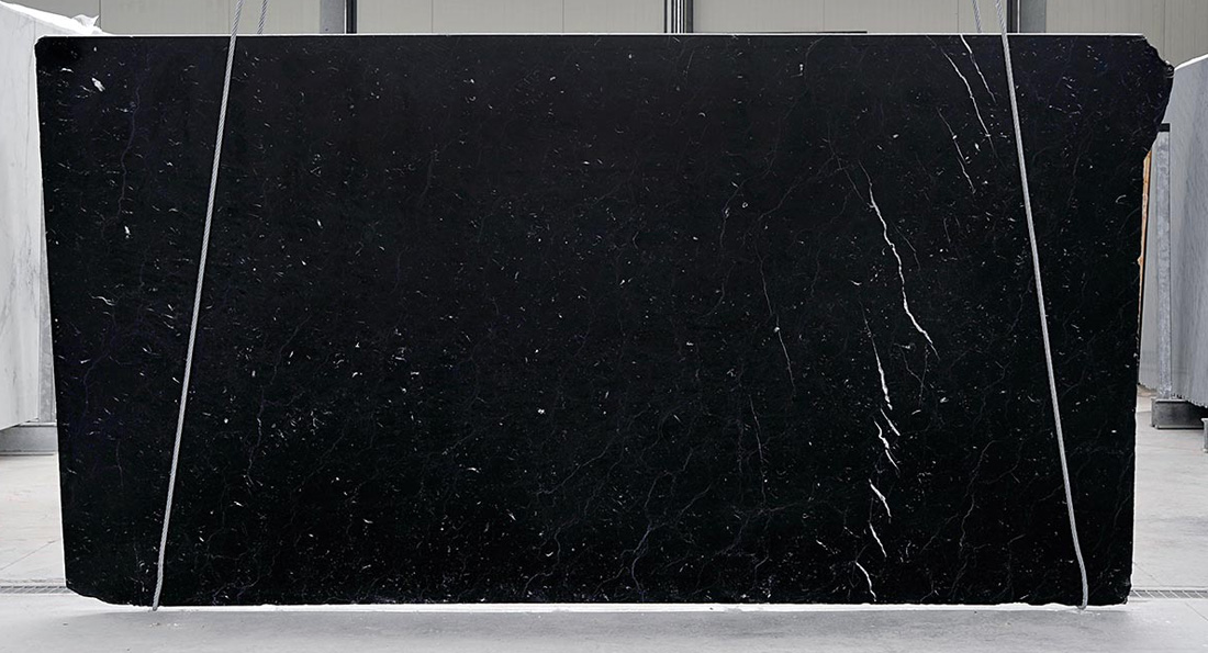 Top Quality Black Marquina Marble Slabs with Competitive Price