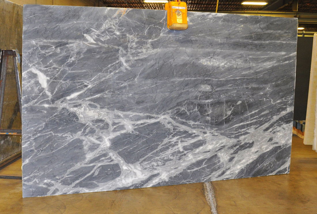 Top Quality Calacatta Blue 3cm Polished Marble Slabs