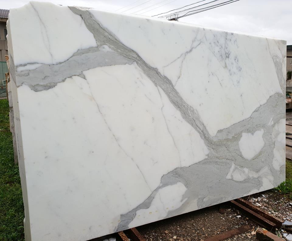 Top Quality Calacatta Slab White Marble Slabs from Italy