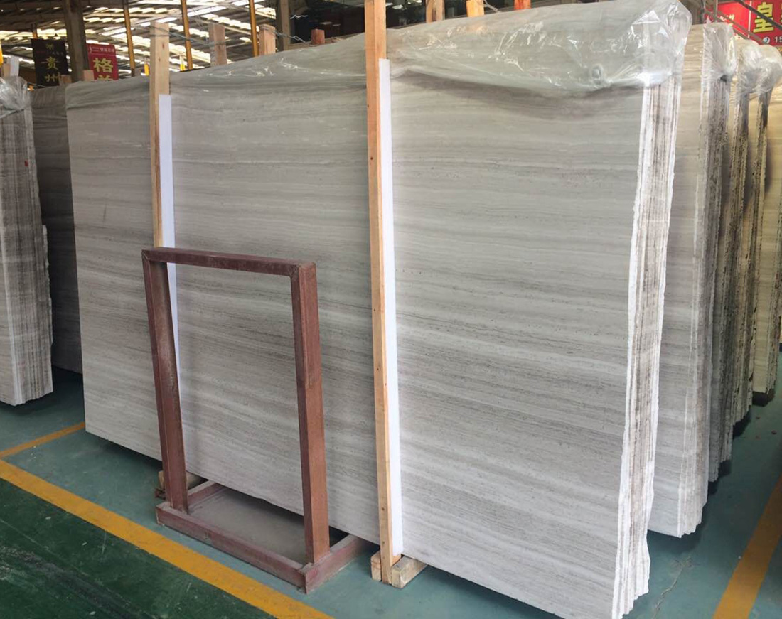 Top Quality China Wooden White Marble Slabs for Walls