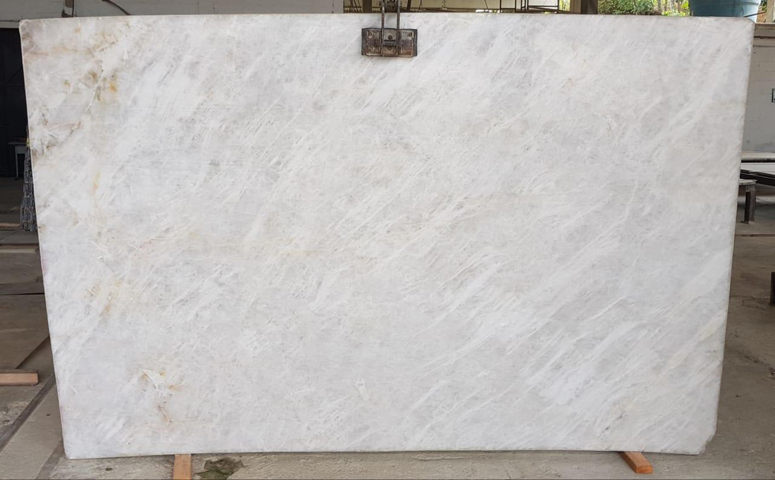 Top Quality Crystal White Polished Quartzite Slabs
