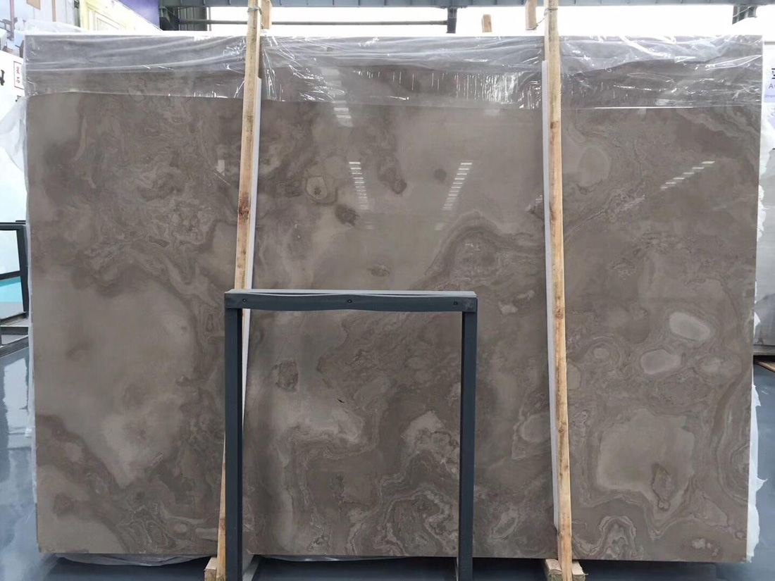 Top Quality Dream Coffee Marble Polished Slabs
