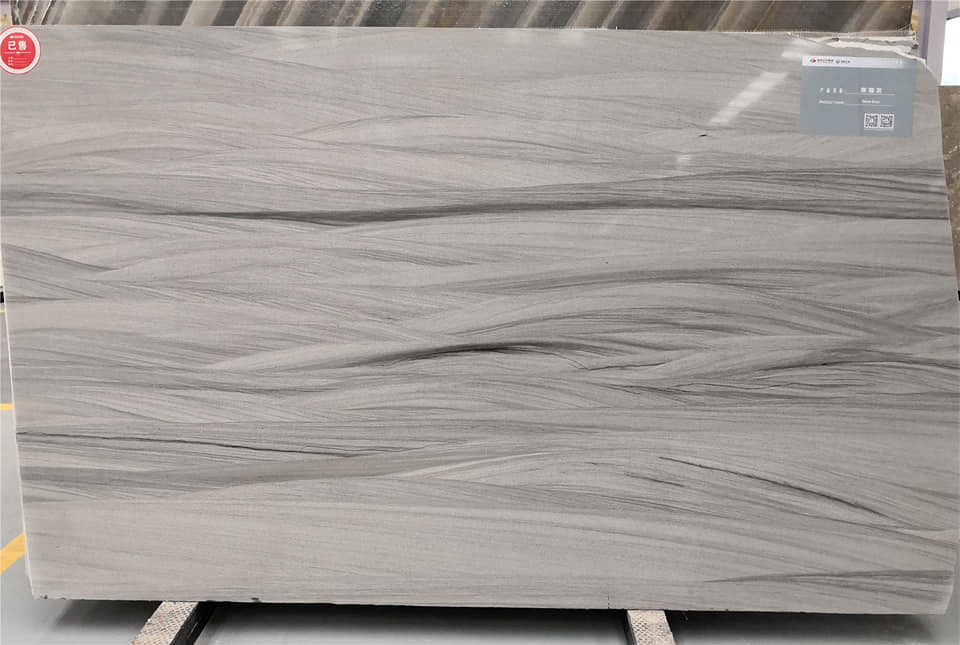 Top Quality Fantasy Grey Marble Slabs Polished Grey Stone Slabs