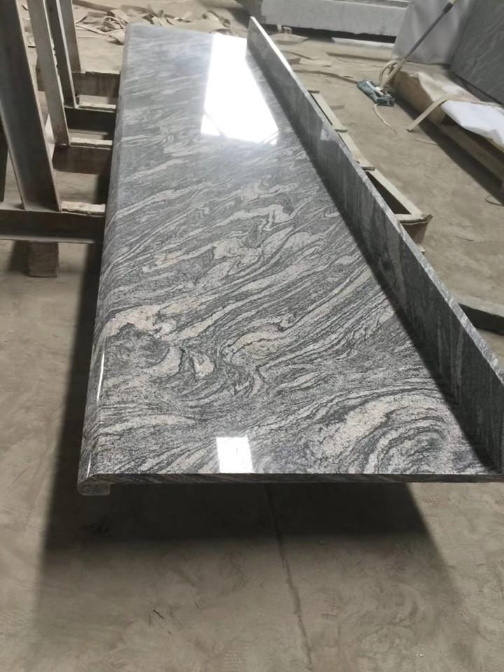 Top Quality Grey Juparana Granite Countertops for Kitchen