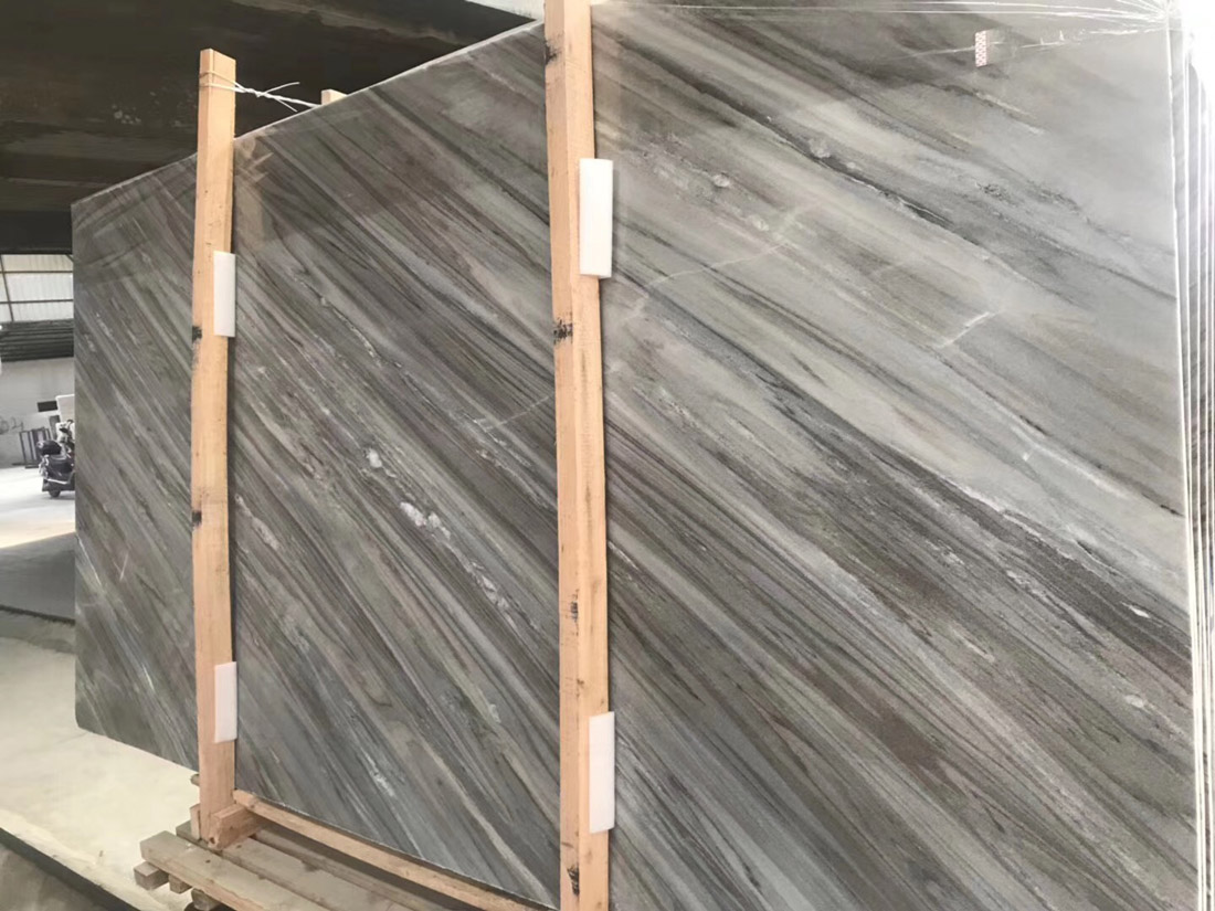 Top Quality Italian Palissandro Blue Marble Polished Marble Slabs