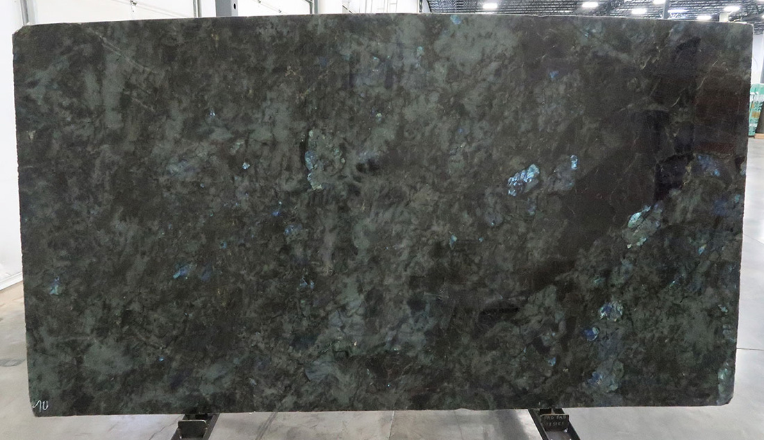 Top Quality Lumerian Blue Polished Granite Slabs for Countertops