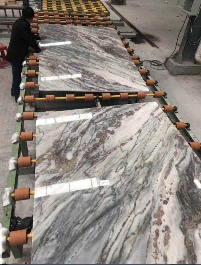 Top Quality Mappa White Slab Polished Marble Stone Slabs