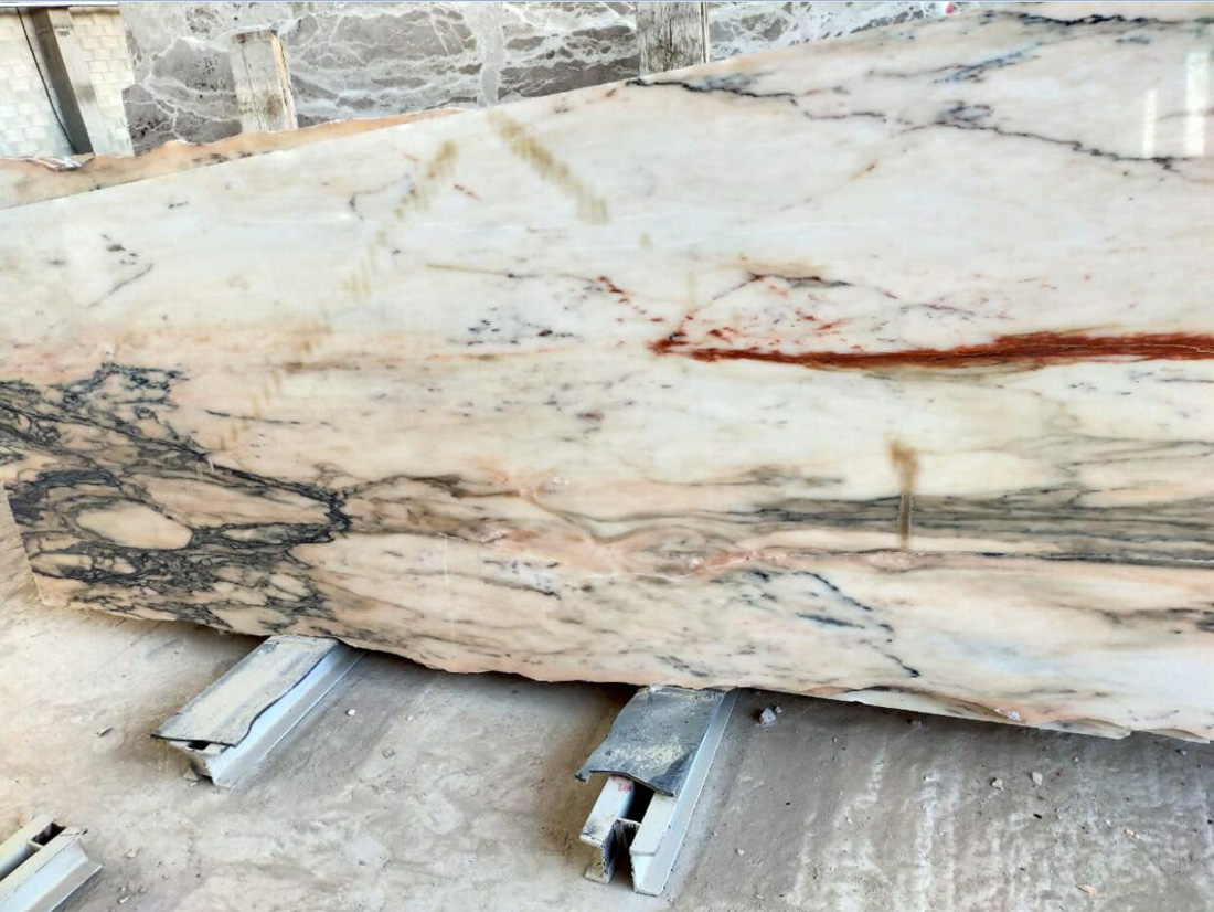 Top Quality Oman Marble Slabs Polished Beige Marble Stone Slabs