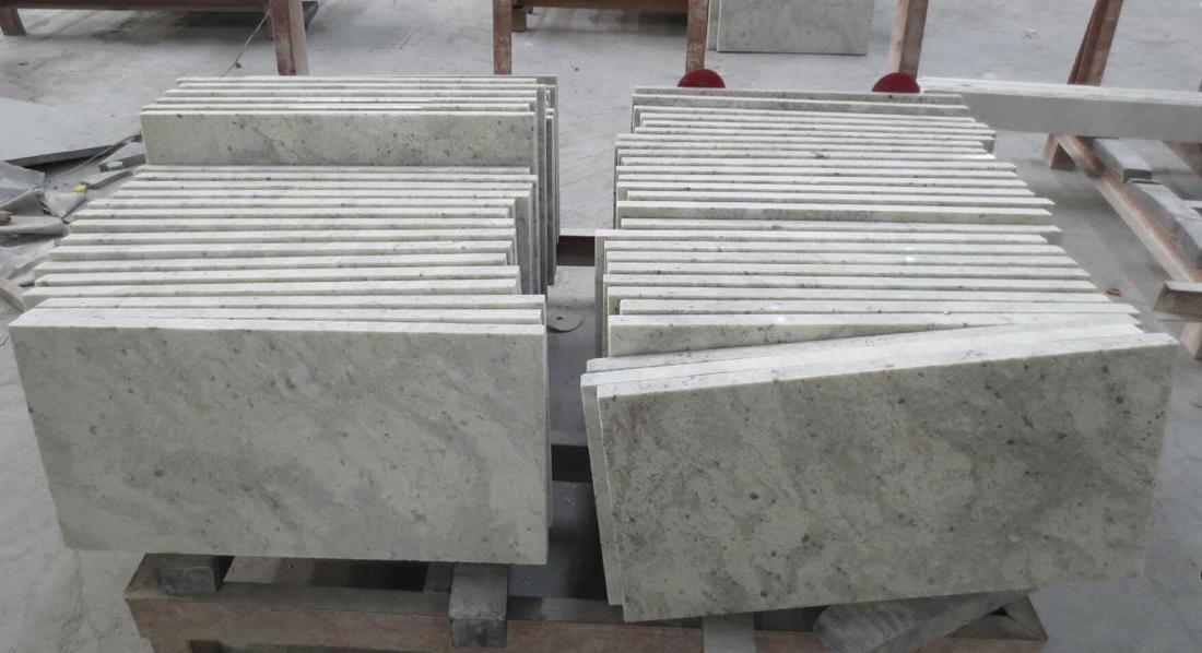 Top Quality White Granite Tiles Andromeda White Tile Polished