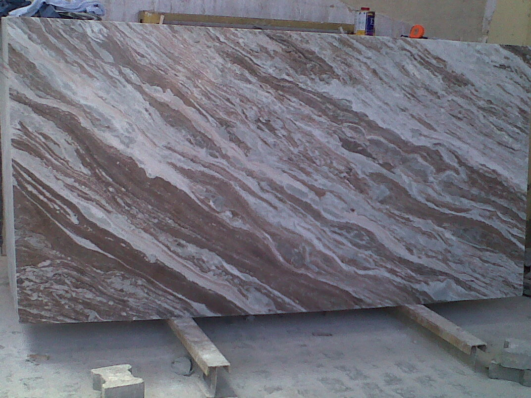 Toronto Brown Marble Slabs Indian Natural Marble Slabs