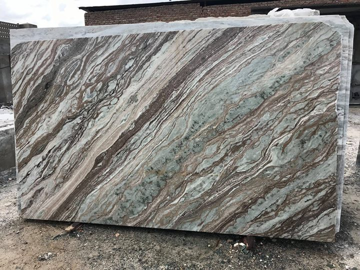 Toronto Brown Marble Slabs from India