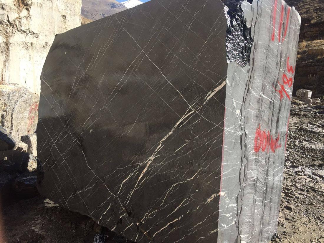 Toros Black Marble Blocks Turkish Black Marble Blocks