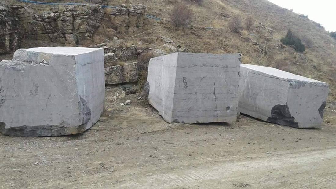 Toros Black Marble Blocks Turkish Natural Marble Blocks