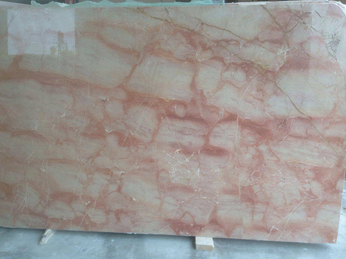 Tramonto Rosso Italian Polished Pink Marble Slabs