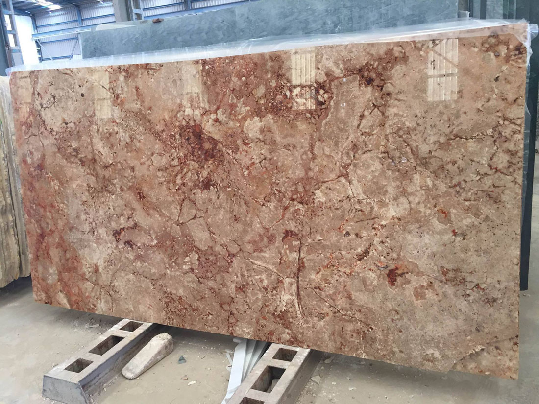Travertine Al Anadus Polished Travertine Slabs