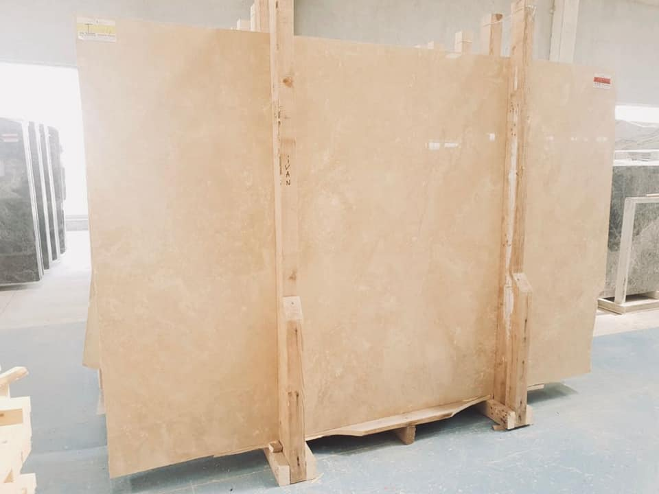 Travertine Light Cross Cut Slab