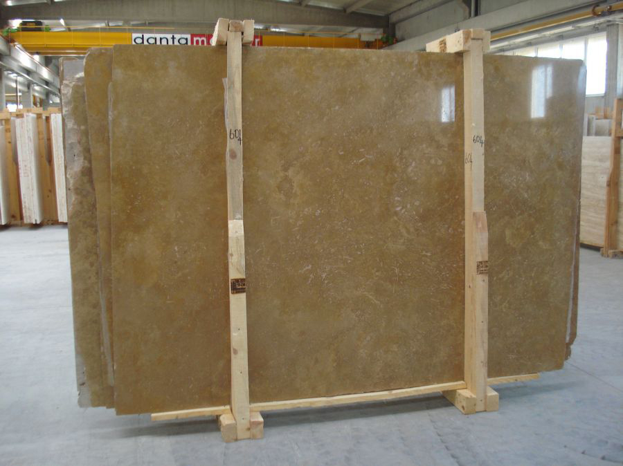 Travertine Noce Slabs Polished Brown Travertine Stone Slabs